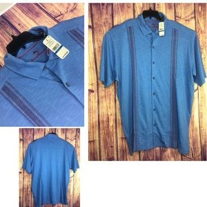 Tommy Bahama Shirt Blue  SZ XLT